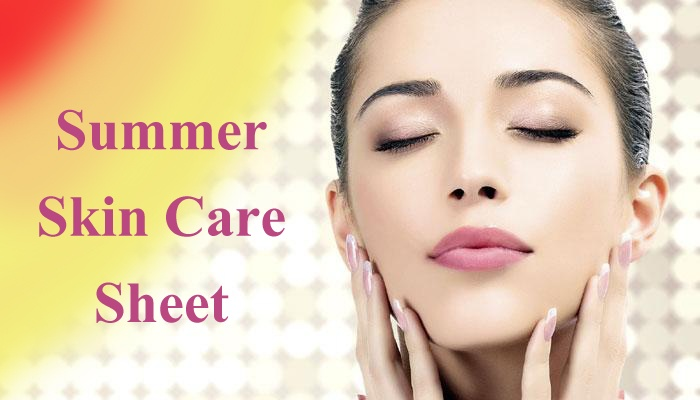 Best Skin Care Sheet by Expert for Unbearable Summer copy