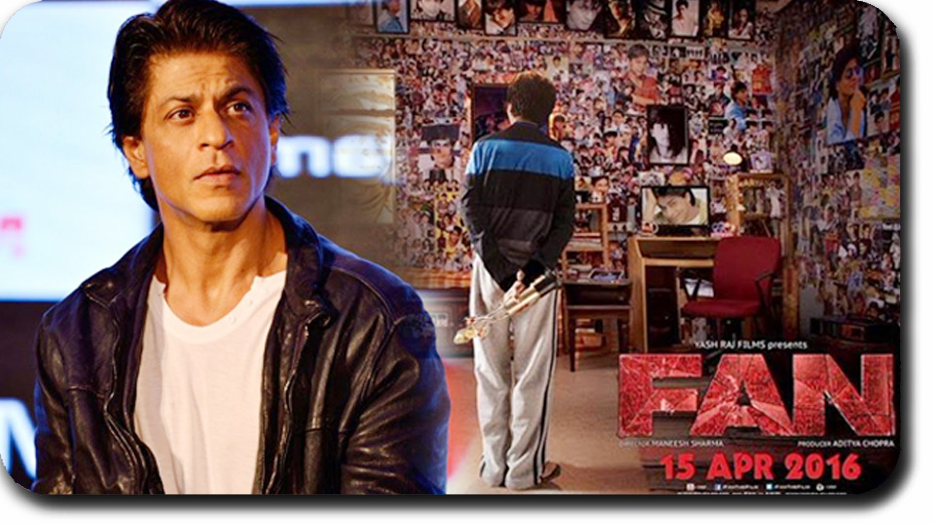 "Film: ""Fan""; Cast: Shah Rukh Khan, Waluscha de Sousa, Shriya Pilgaonkar, Deepika Amin, Yogendra Tiku, Sayani Gupta; Directed by: Maneesh Sharma; Rating: ***1/2  In a star-struck country, where hero worshipping is a norm, ""Fan"" is an insightful film looking into the obsessive, delusional behaviour of a star admirer and his love for his matinee idol. It is a reality check for both, stars and their fans.  Basically, the film is a battle of wills between Gaurav Chandna, the fan, and Aryan Khanna, the star.  Delhi-based Gaurav is the reigning heart-throb Aryan's doppelganger and a die-hard fan. It is his dream to meet his idol. So crazy is he that he follows the same trail as his idol to Mumbai and goes to any lengths to protect his star.  How he meets his star and the disillusionment that follows, forms crux of the tale.  The story written and directed by Maneesh Sharma, is uncomplicated, but of course exaggerated and zooms into a noire zone, pushing the boundaries of acceptability. The first half of the film is well-balanced and taut. It is the second half that is far-fetched, and though thrilling, strains.  Although treated as a dramatic thriller, the film is more of drama than a thriller. Narrated from Gaurav's point of view, the film brings to fore, the pragmatic issues of stardom and how stars deal with their crazy fans. Your heart bleeds for Gaurav, but at the same time makes you realise that one needs to be rational.  The pace of the film though racy, drags in parts, especially in the stretched action sequences, which is well-choreographed.  With well-etched characters, the performance of each actor is noteworthy. The film belongs to Shah Rukh Khan, who in a dual role, is a treat for his fans. In both his characters, Gaurav and Aryan, he is distinct in his sartorial style, speech and mannerisms. With his overt histrionics, sincerity and simplicity, his obsession is palpable. He steals the show as Gaurav. As Aryan, Shah Rukh Khan is merely an extension of himself.  Of the rest of the supporting cast, Deepika Amin and Yogendra Tiku, as Gaurav's parents are fairly competent. Waluscha de Sousa as Aryan's wife and Shriya Pilgaonkar as Gaurav's love interest Neha, in small roles make their presence felt.  With great production values, the sets are realistic and the locales impressive.  Visually, Director of Photograohy (DOP) Manu Anand's images are impressive. He captures the hysteria of the fans and their gawking at their star, with precise acuteness. His frames seamless mesh with the computer generated images. It is in the initial scenes where the shots with grainy images are chaotic and thus, disorienting, but once the narration settles, the visuals are realistic and appealing.  Namrata Rao's razor sharp edits are crisp and note-worthy. She aptly layers the visuals and Andrea Guerra's background score to make the film a sound and visual delight.  Interestingly, despite with no songs in the narration, ""Fan"" keeps you entertained with Shah Rukh's gusty performance."