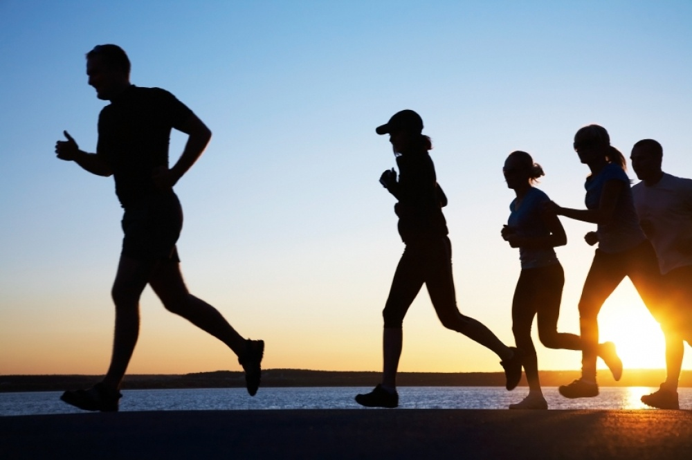 Without prior exercise Jogging damages knees