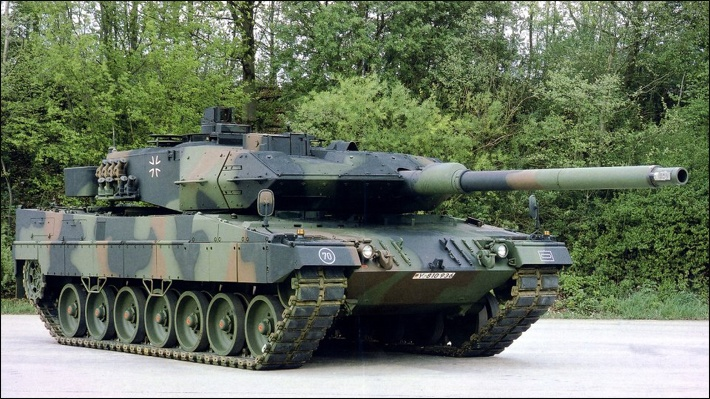 German leopard 2a6 beat US M 1a2 in top 3 NATO tank challenge