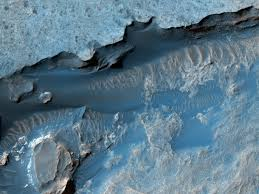 HIRISE Brought clue of water existance on mars