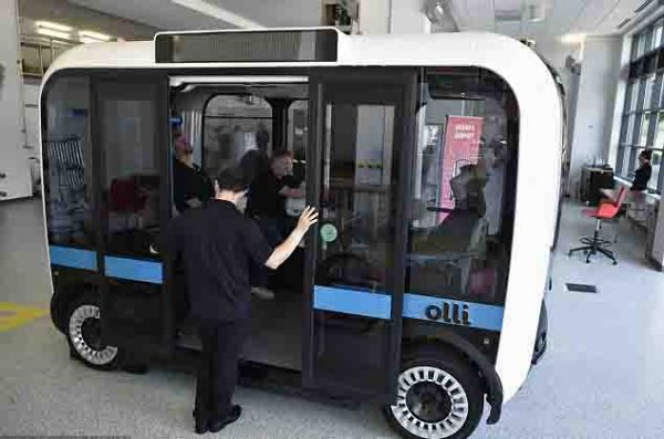 Self driving minibus Olli starting from today