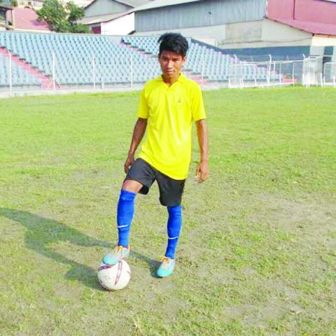 First player to get a place in national league from Assam