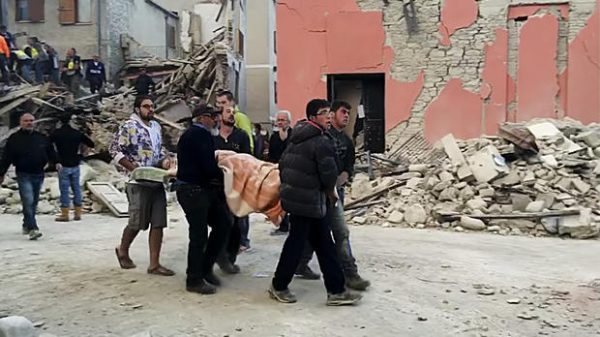 38 dead in Italy  after hit by 6.2 magnitude Earthquake