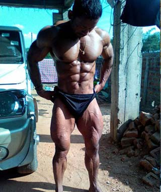 Golap Rabha  from Assam to represent India In Mr Universe 2016