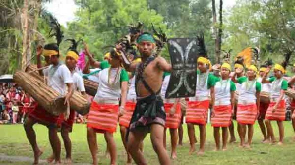 Wangala the festival of music & dances of The Garos Tribe