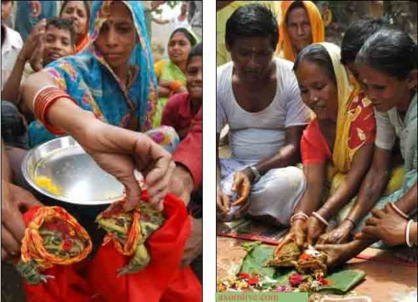 3 Well known traditional belief and rituals of Assamese society