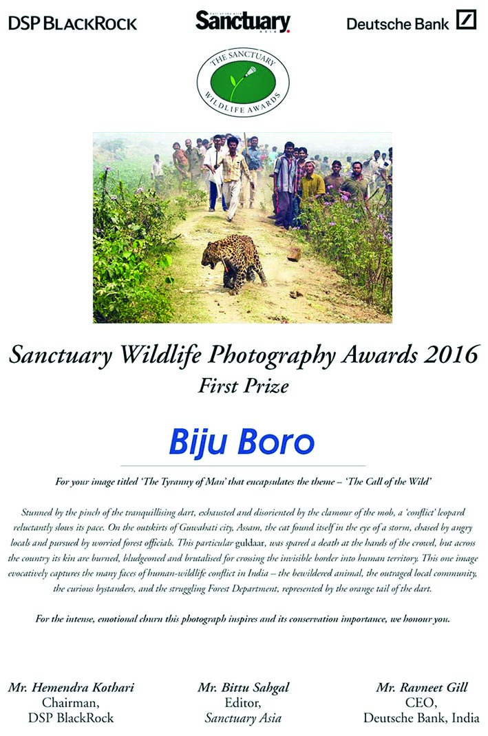Biju Boro talks about his passion for wildlife photography