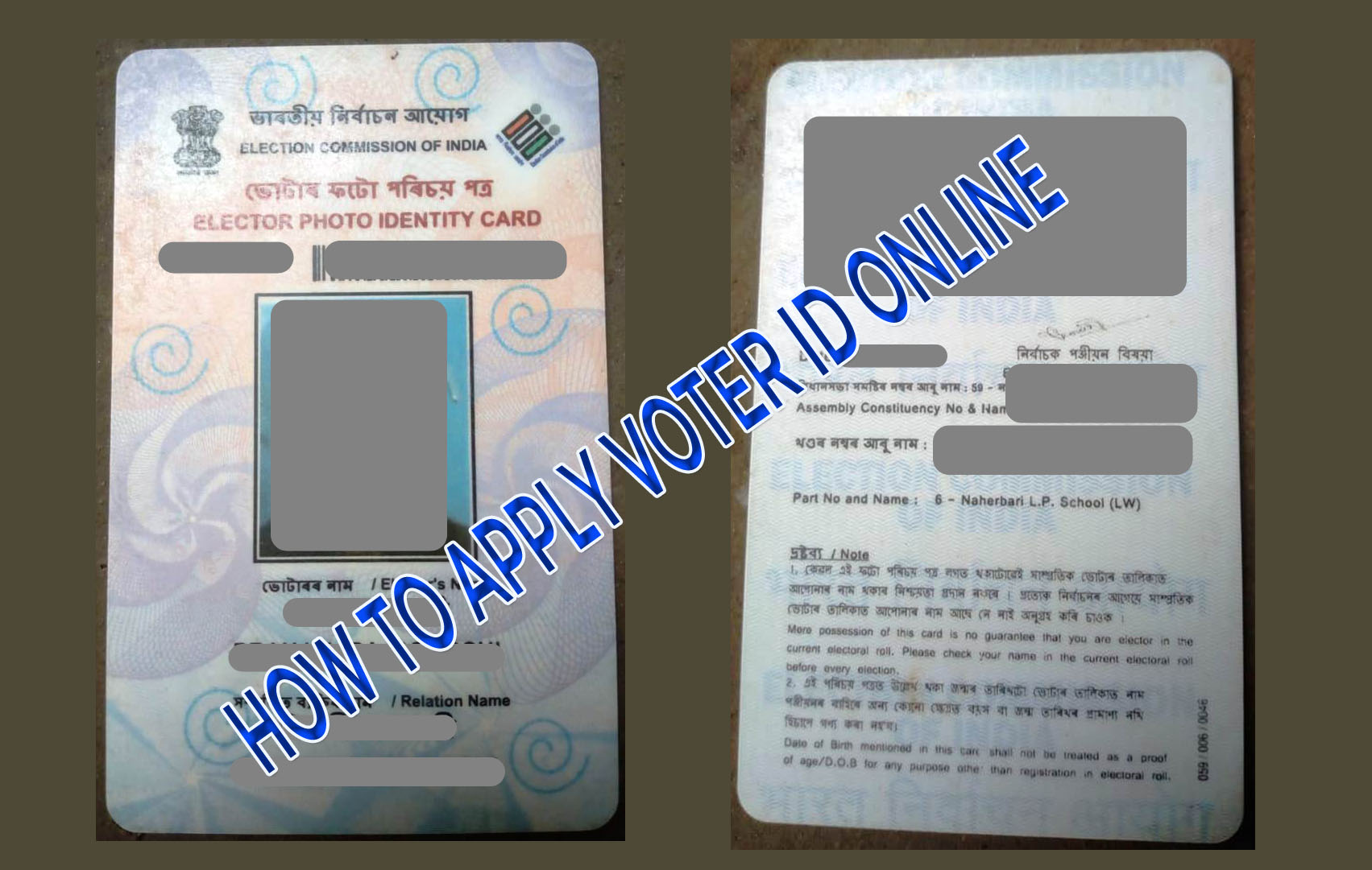 How to Apply Voter ID Card Online - AsomLive